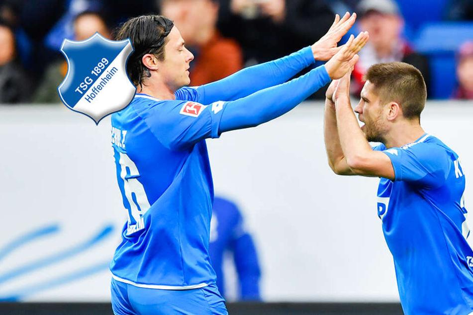 Zittersieg: TSG Hoffenheim bezwingt Kellerkind Nürnberg knapp