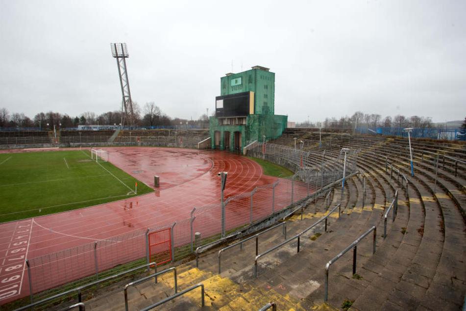 Bis Dezember 2020 soll die Sanierung des Stadions im Sportforum abgeschlossen sein.