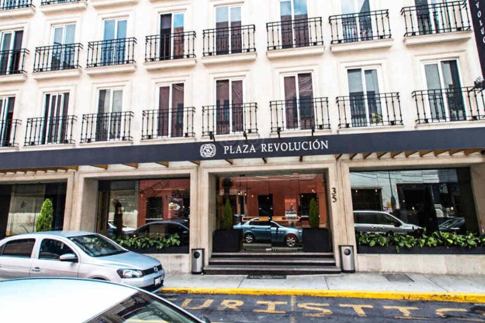 In diesem Hotel geschah das Entführungs-Drama.