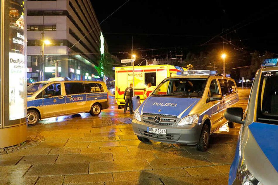 Die Auseinandersetzung passierte an der Ecke Brückenstraße/Straße der Nationen.