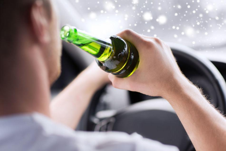 Betrunkener Autofahrer crasht Wagen von Polizistin