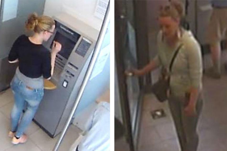 Mithilfe der Fotos hofft die Polizei auf Hinweise aus der Bevölkerung zur Identität der mutmaßlichen Betrügerin.