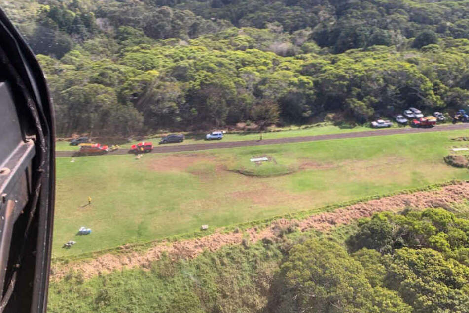 Hubschrauber stürzt ab: Sieben Tote, darunter drei Kinder