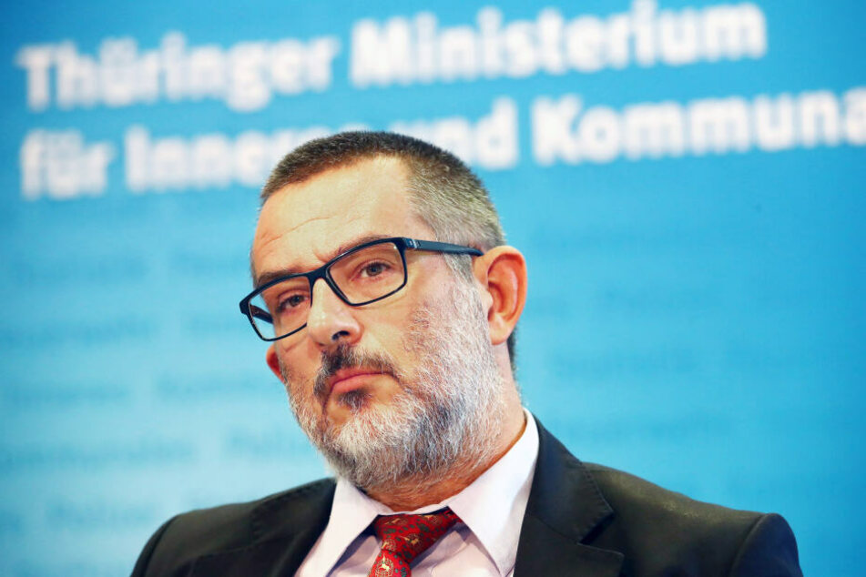 Thüringens Verfassungsschutzpräsident Stephan Kramer.