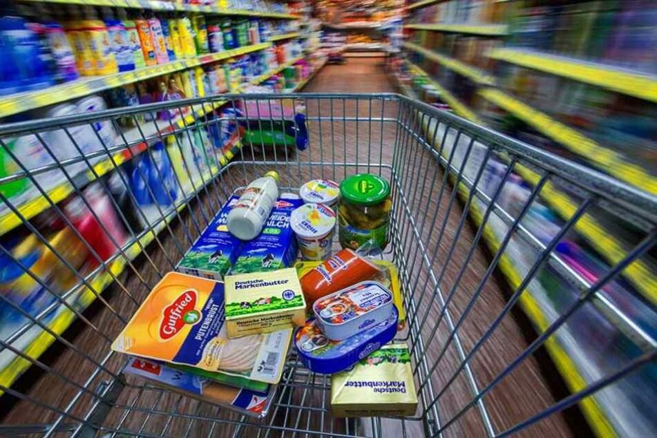 Auf Tageslicht muss man beim Einkaufen in Supermärkten fast gänzlich verzichten.