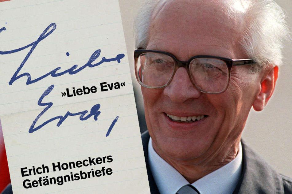 Während seines Gefängnisaufenthalts pflegt Honecker eine Brief-Romanze mit einer Eva.