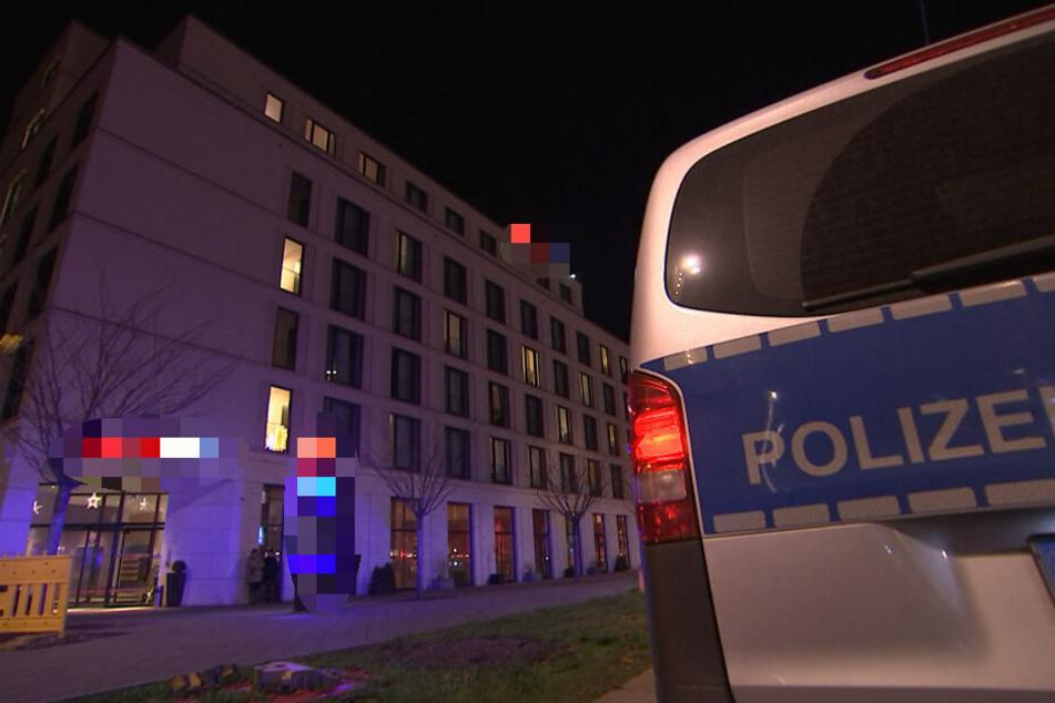 In diesem Hotel im Leipziger Zentrum nahm der 33-Jährige eine Mitarbeiterin als Geisel.