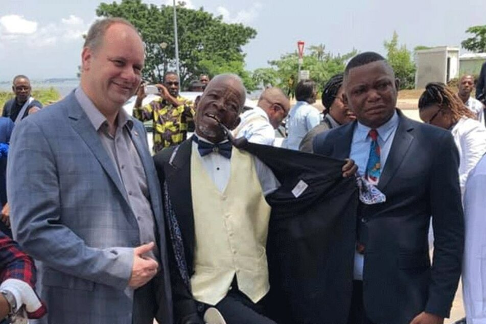 Auch 2019 reist Hilbert viel - im Januar etwa in Dresdens kongolesische Partnerstadt Brazzaville.