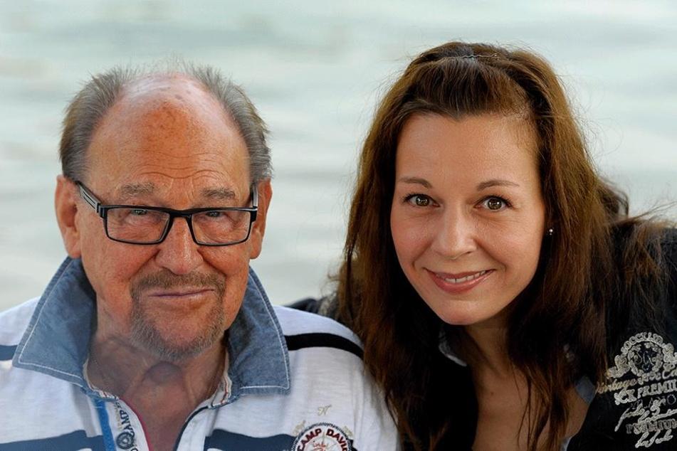Gesundheit für ihre Lieben - das ist Mirjam Köfer (44) am wichtigsten. Zum Glück ist auch Papa Herbert Köfer (97) nach wie vor fit.