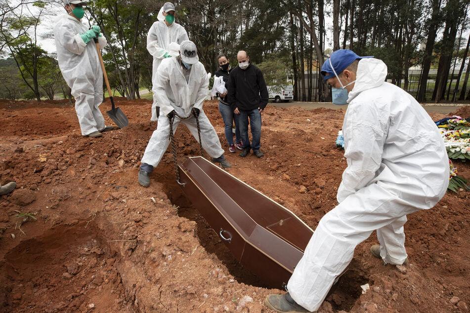 Brasilien ist derzeit einer der Brennpunkte der Pandemie.