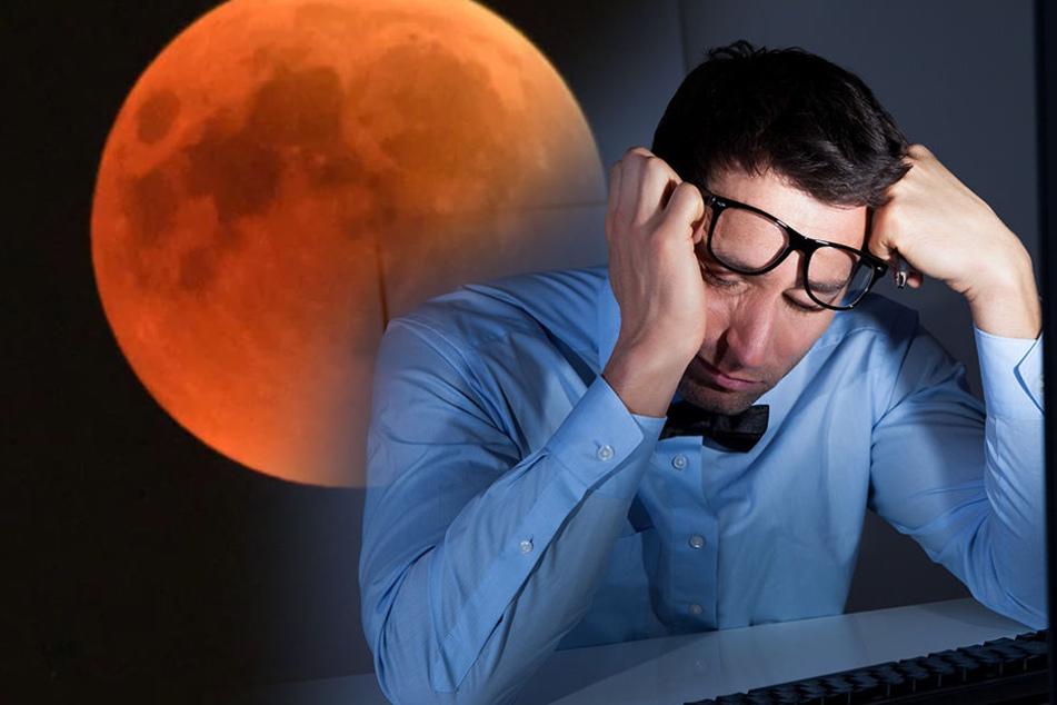 Mondfinsternis: Wieder blutiger Mond am Himmel! Aber es gibt ein Problem...