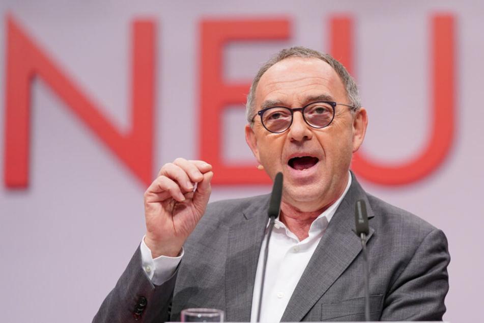 Auch Norbert Walter-Borjans wird in Erfurt erwartet.