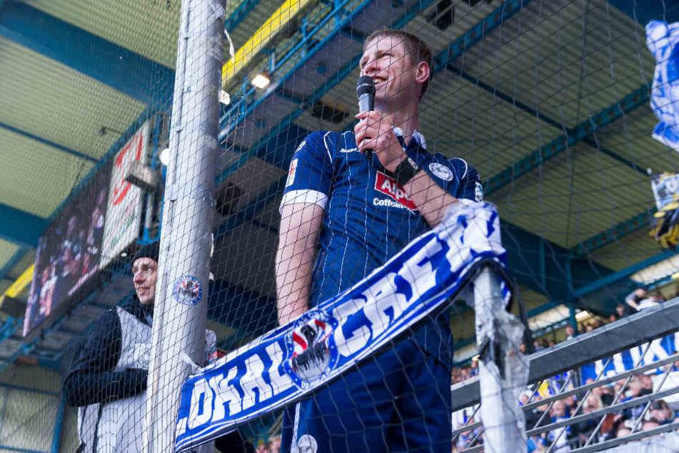Fabian Klos ist nah an den Fans: In guten...