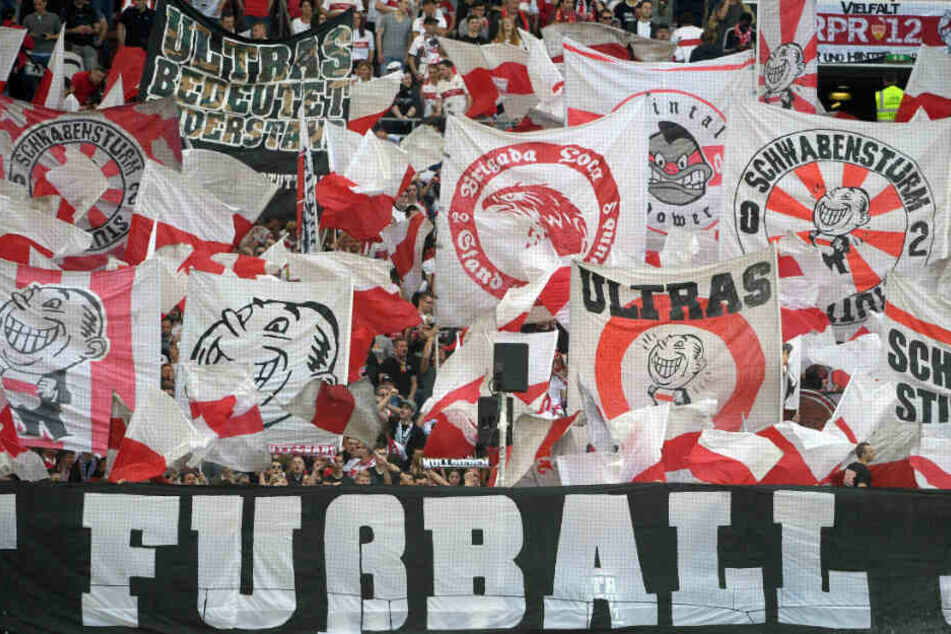 """""""Verdient Euch diese Kurve"""" lautet jetzt für die Ultras vom """"Schwabensturm"""" das Motto."""