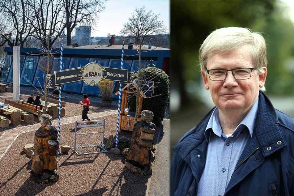 Bisher profitiert nur die City: Abschaffung von Biergarten-Steuer soll ausgeweitet werden