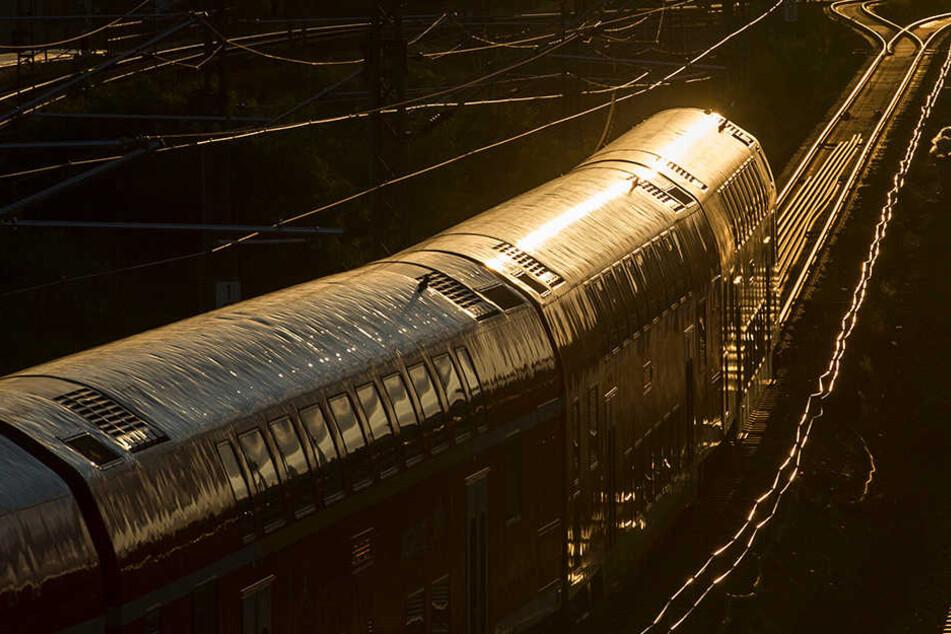 Die Feuerwehr musste rund 70 Passagiere aus einer Regionalbahn evakuieren. (Symbolbild)