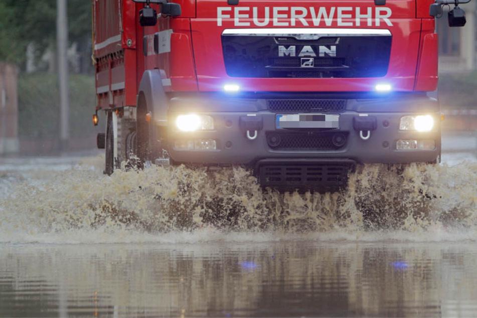 Mit der Überflutung bebauter Gebiete muss gerechnet werden (Symbolbild).