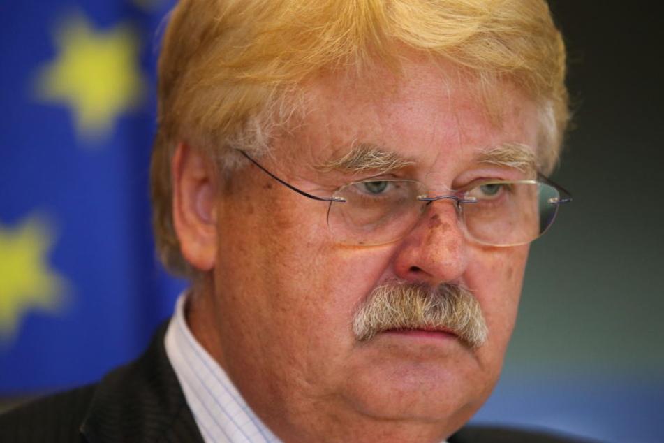 Der EU-Parlamentsabgeordnete Elmar Brok (72).