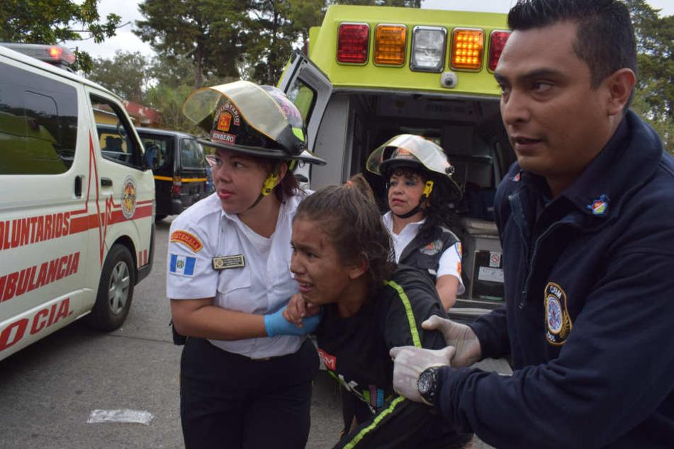 Mindestens 21 Menschen starben bei dem Brand, 23 wurden verletzt.