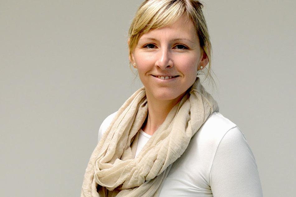 CDU-Stadträtin Anke Wagner (35) setzt sich für das Sportkonzept ein und hofft  auf Unterstützung der anderen Fraktionen.