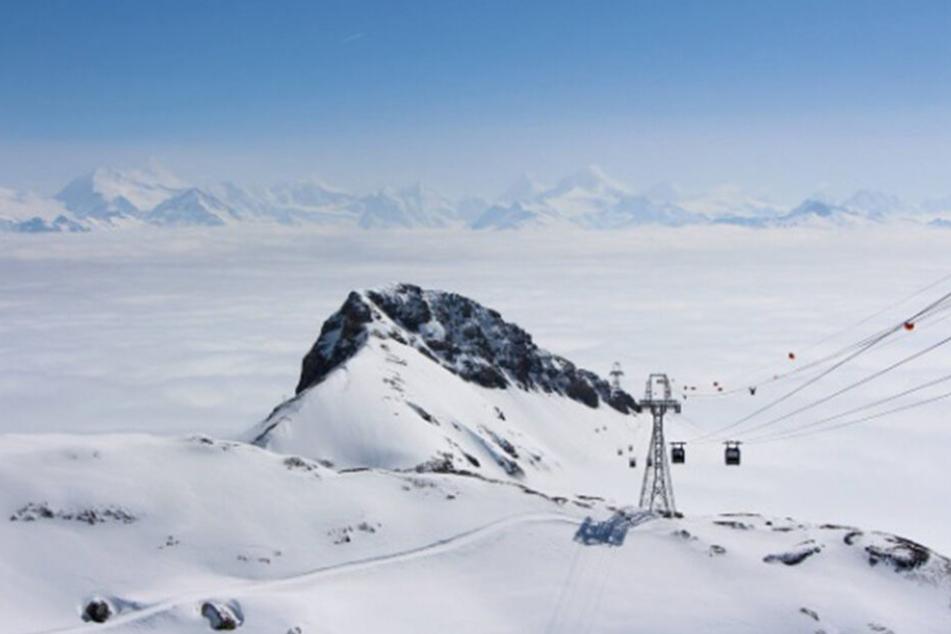 Crans Montana ist ein beliebtes Skigebiet