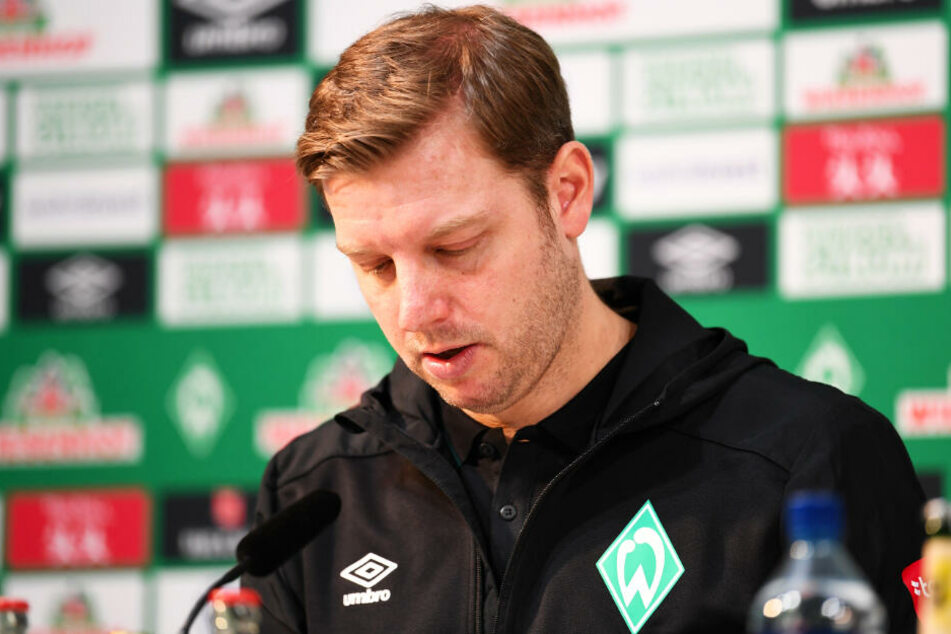 SVW-Trainer Florian Kohfeldt entschuldigte sich nach dem Spiel bei den Fans für die schlechte Leistung seiner Elf.