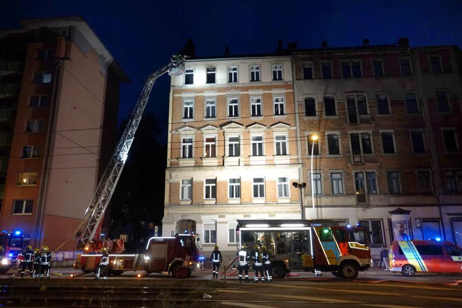 Das Feuer war im vierten Stock ausgebrochen.