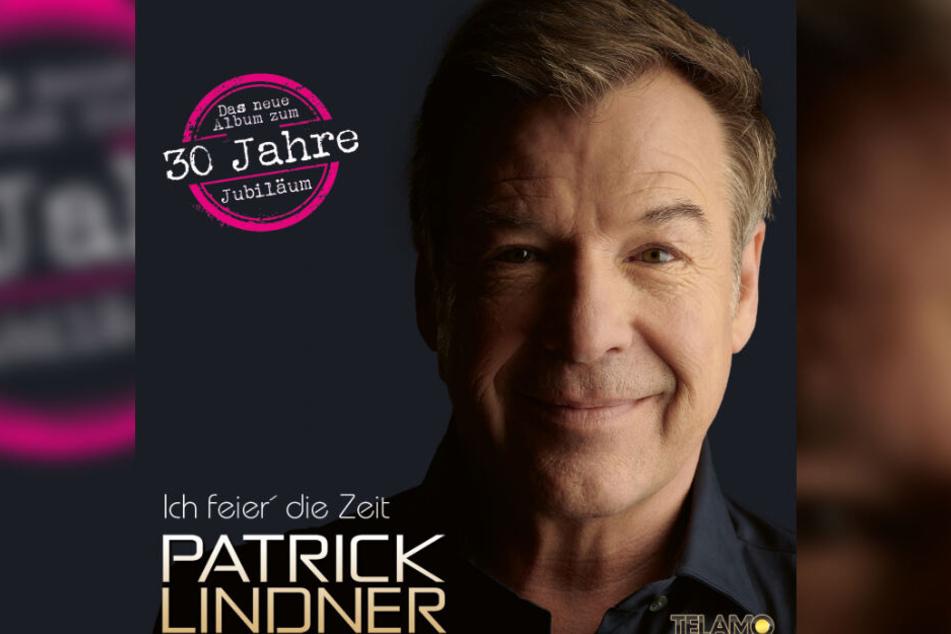 """Das Cover des Albums """"Ich feier' die Zeit"""" des Sängers Patrick Lindner"""