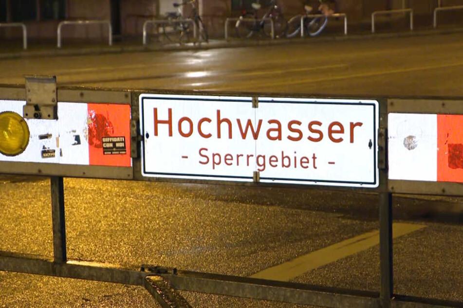 Mehrere Bereiche in Hamburg mussten gesperrt werden.