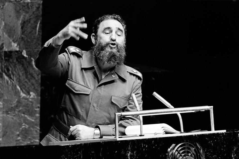 Castro gilt als kubanischer Revolutionsführer. Er regierte Kuba 47 Jahre lang.