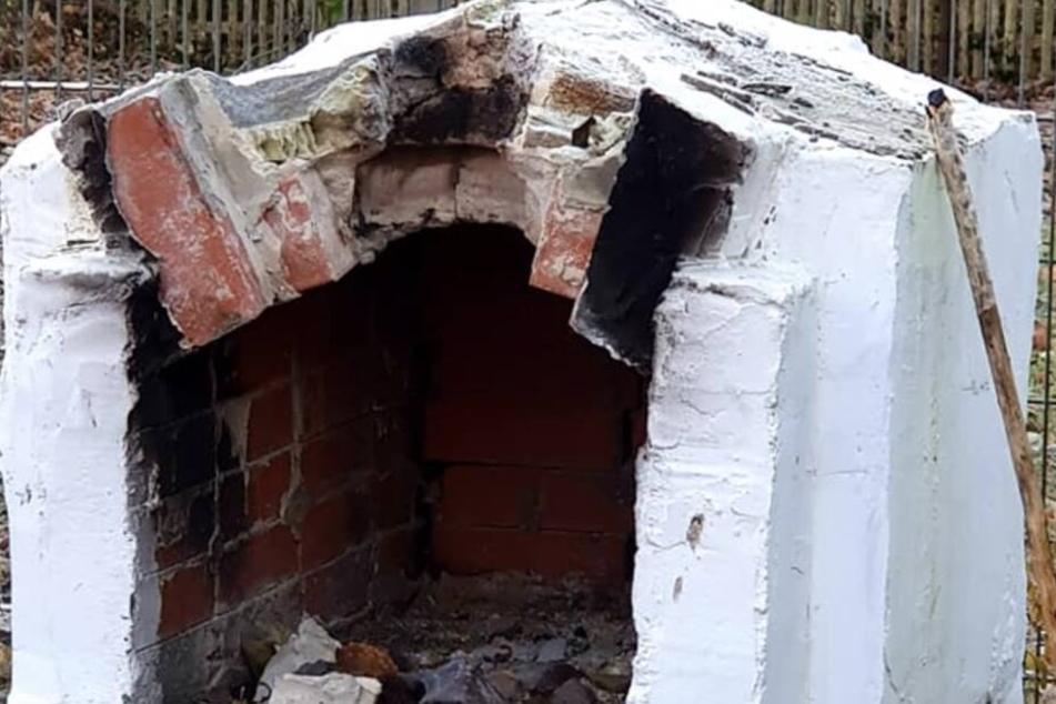 Mit eingeschlagenem Dach können hier keine Brötchen gebacken werden.