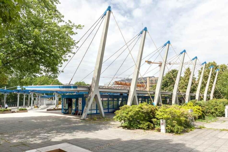 Noch bis mindestens 2020 wird der Omnibusbahnhof am alten Standort in der Straße der Nationen bleiben.