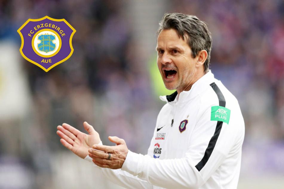 Aue-Coach Schuster legt fest: Start am 27. Juli!