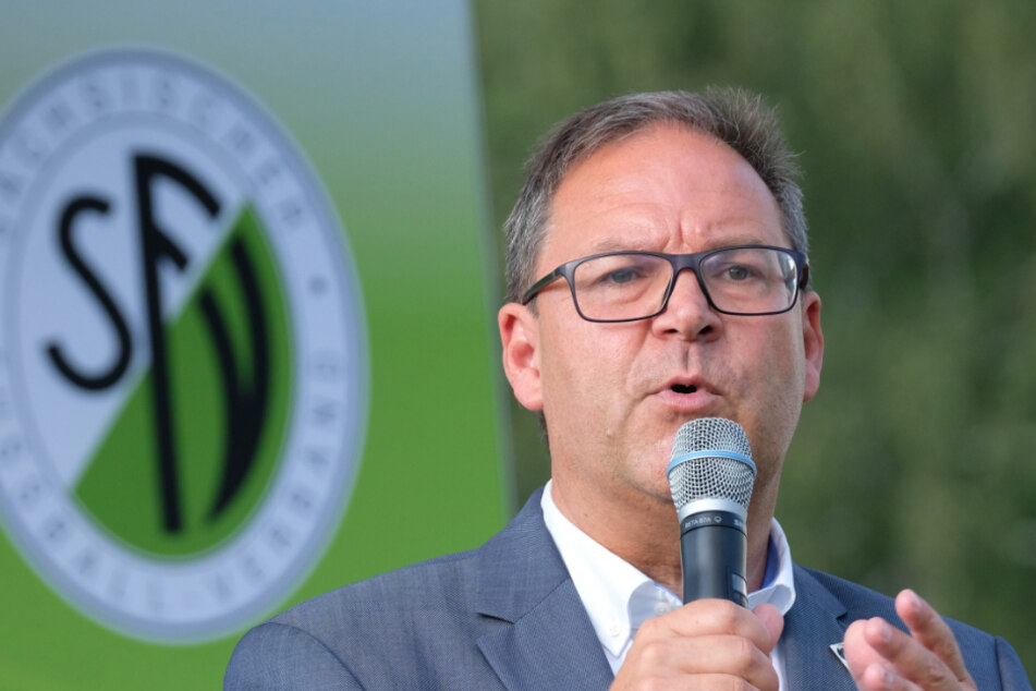 Hermann Winkler, president of the Saxon Football Association (SFV).