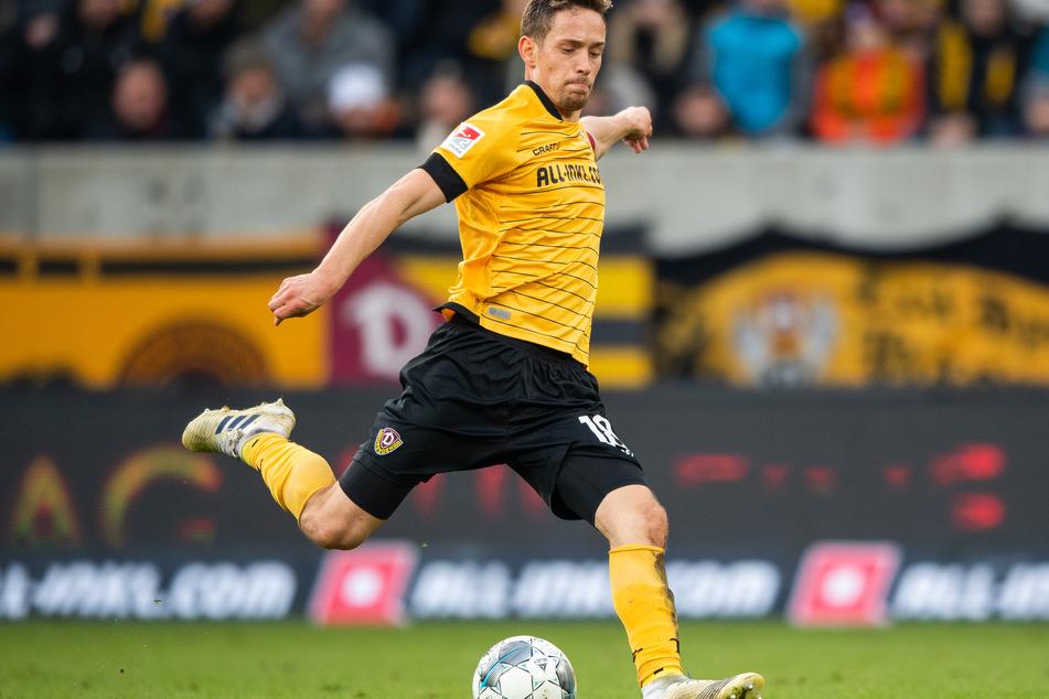Jannik Müller in der Partie gegen Holstein Kiel im November 2019.