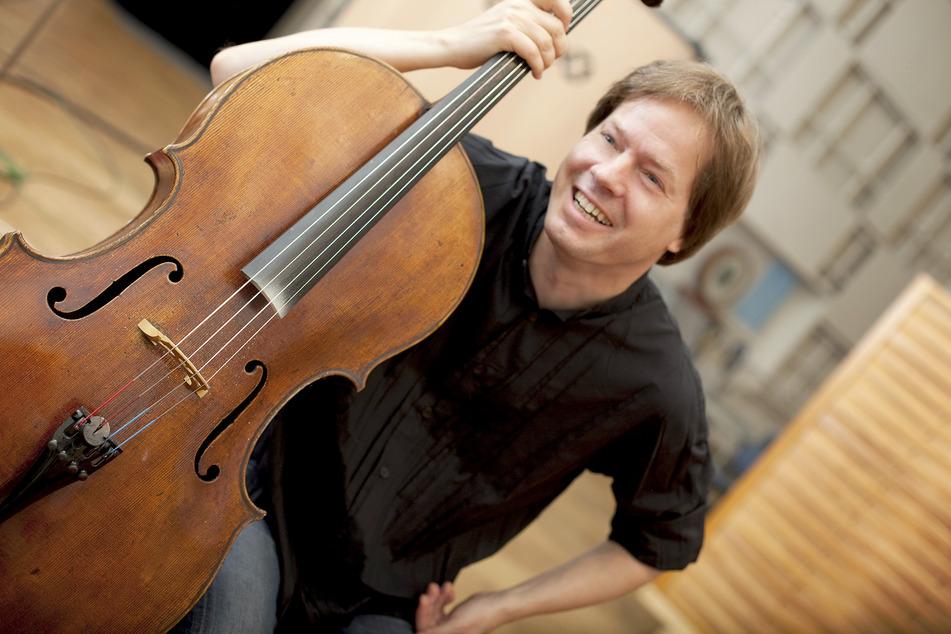 Der Dresdner Cellist und Festspielintendant Jan Vogler.