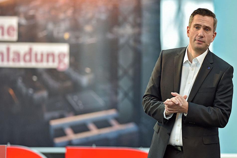 Martin Dulig bleibt Spitzenkandidat der SPD.