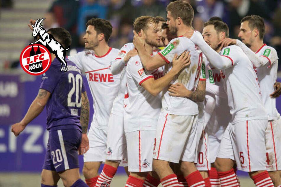 1. FC Köln setzt sich mit Arbeits-Sieg an die Tabellenspitze