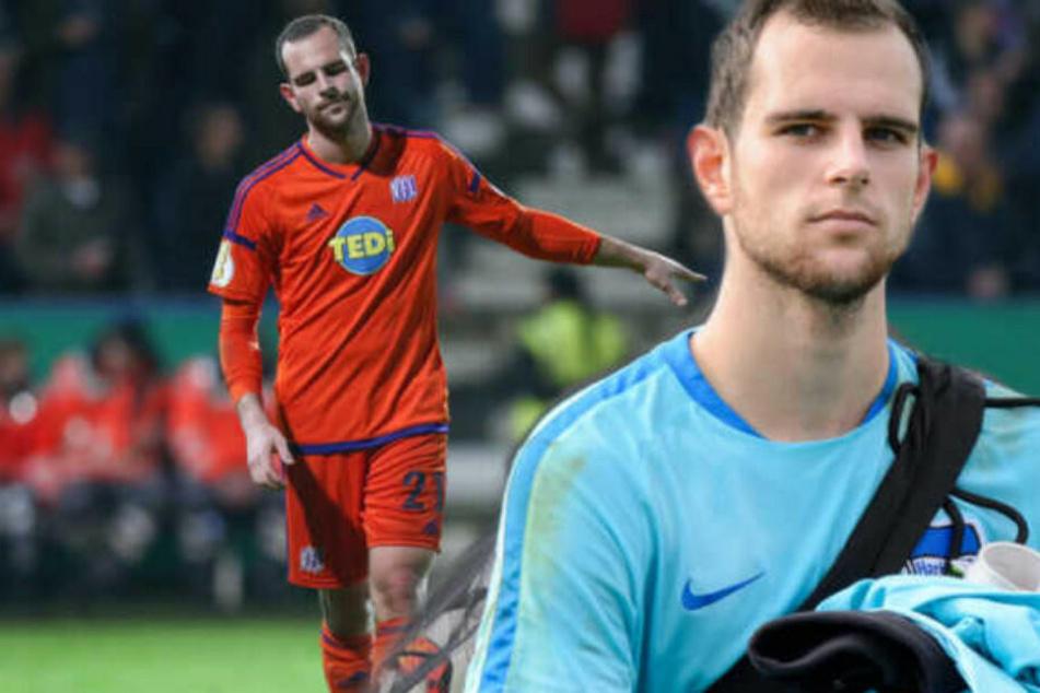 Marius Gersbeck steht vor einem Wechsel zum Karlsruher SC.