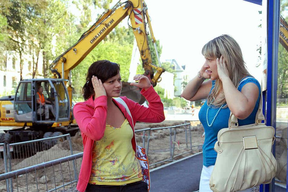 Die Leipziger fühlen sich am meisten von Baustellen-Lärm in Ruhe gestört. (Symbolbild)