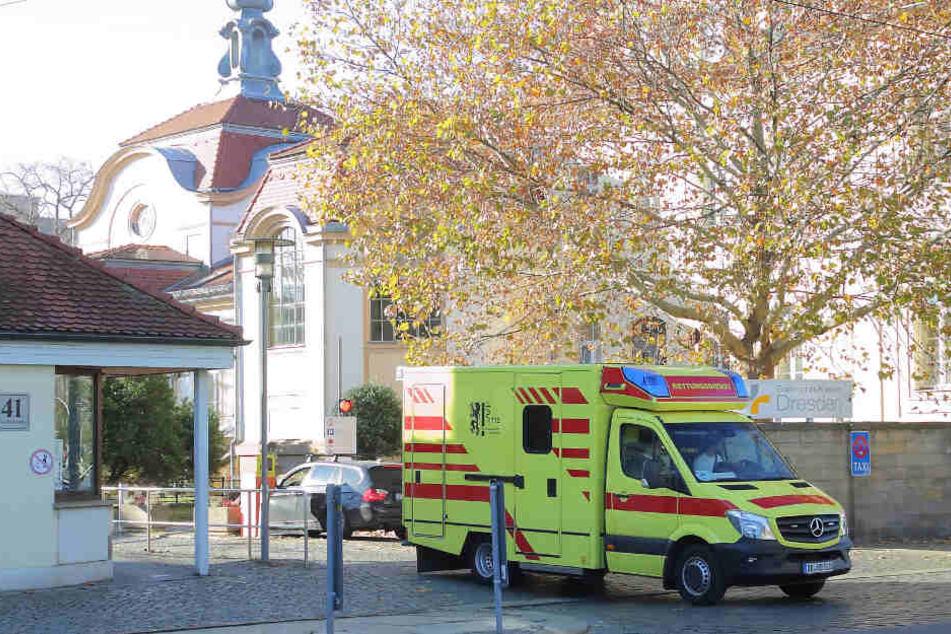 Die städtischen Kliniken in Dresden - hier Friedrichstadt - gehören der Stadt. Sie machen hohe Verluste.