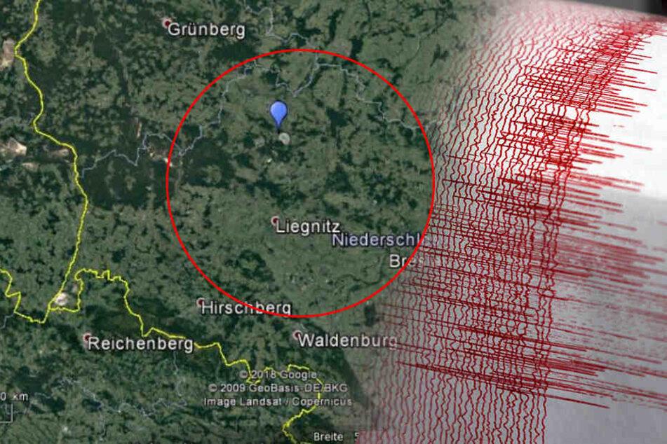 Erdbeben in Polen: Bergleute vermisst, auch starke Erschütterungen in Sachsen!