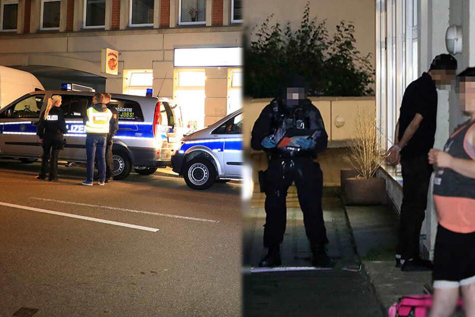 Große Razzia in Chemnitz: Eine Festnahme, mehrere Anzeigen
