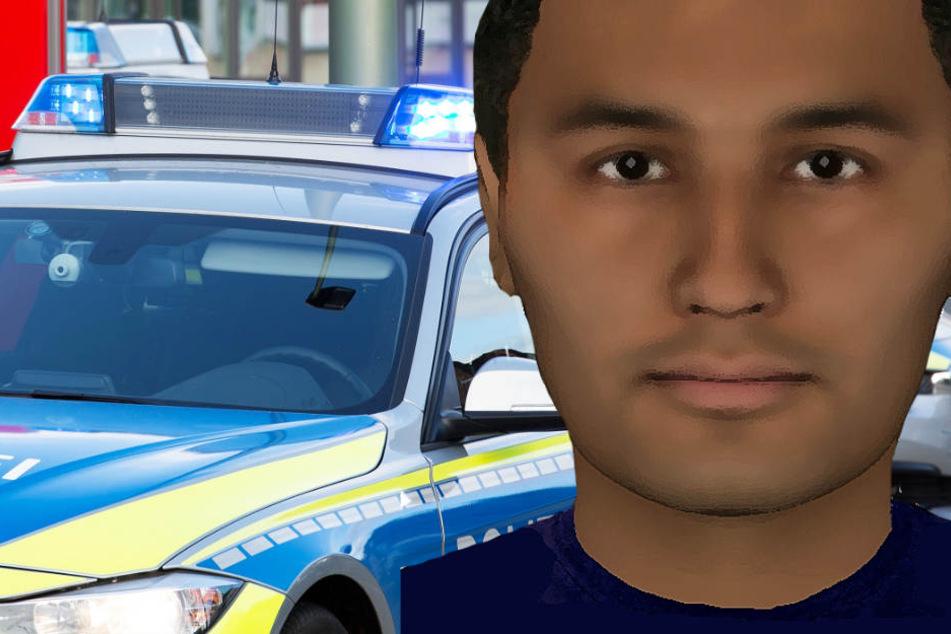 Die Polizei fragt: Wer kennt diesen Mann?