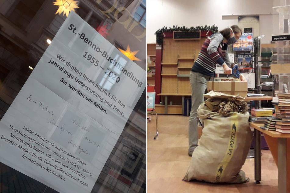 """Dresden: """"St.-Benno""""-Buchhandlung muss schließen: Verhandlungen mit Bistum gescheitert"""