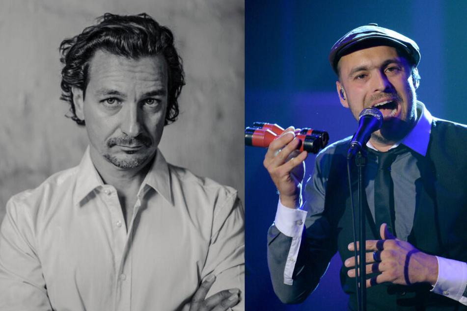 Zauberer Thorsten Havener (46, l.) und Sänger Max Mutzke (37).