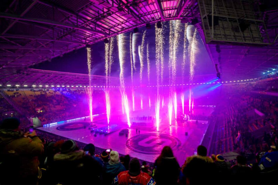 Wow! Mit einem Feuerwerk fand das Hockey-Open-Air einen krönenden Abschluss vor 32.009 Zuschauern.