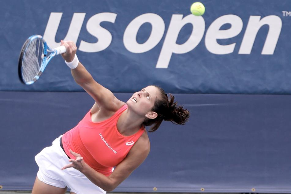 USA, New York: Tennis: Grand Slam/WTA-Tour - US Open, Einzel, Damen, 1. Runde, Julia Görges in Aktion. (Archivbild)
