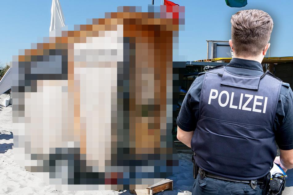 Nackter Mann am Straßenrand? Polizei zu kuriosem Fahrzeug alarmiert