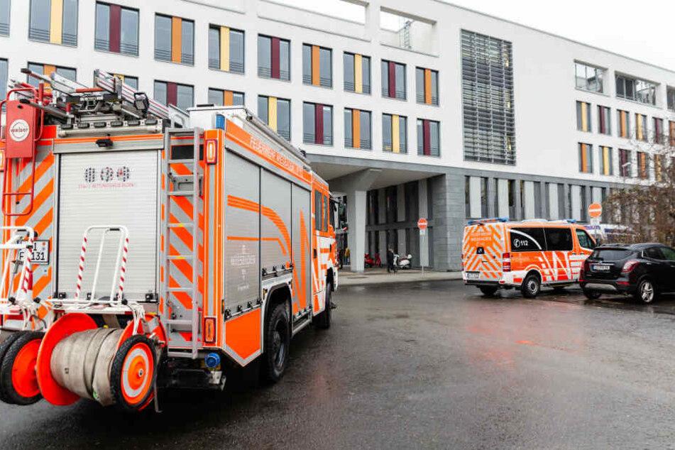 Sozialamt in Wiesbaden wegen verdächtigen Geruchs geräumt